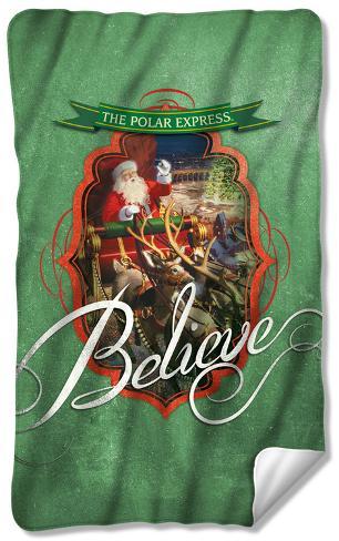 Polar Express - Santa Fleece Blanket Fleece Blanket