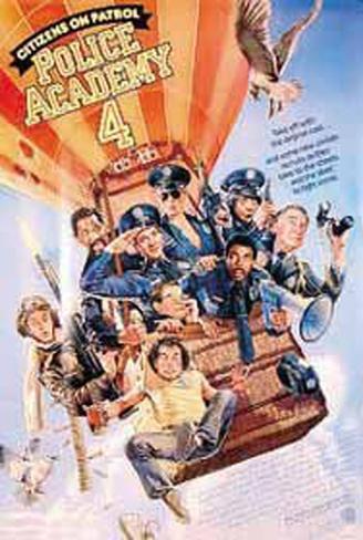 Police Academy 4 Original Poster