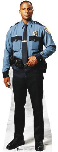 Policeman Lifesize Standup Cardboard Cutouts