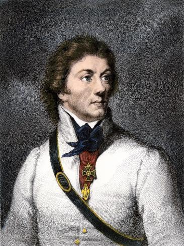 Polish General Tadeusz Kosciuszko Who Aided the American Colonies Stampa giclée