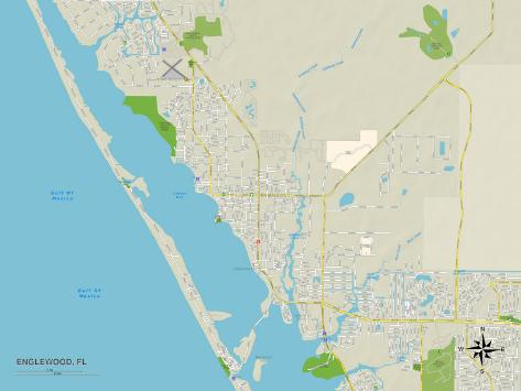 englewood florida map of florida