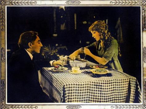 POLLYANNA, right: Mary Pickford on lobbycard, 1920. Art Print