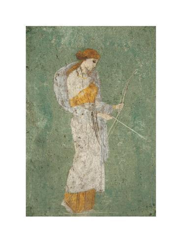 Pompei Diana Art Print