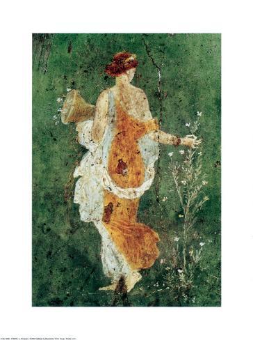 Pompei la Primavera Art Print