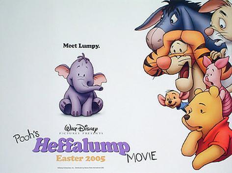 Pooh's Heffalump Movie Original Poster