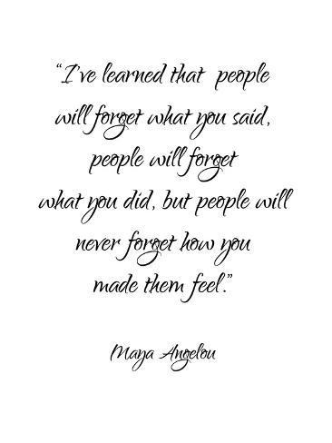 Maya Angelou Stampa artistica