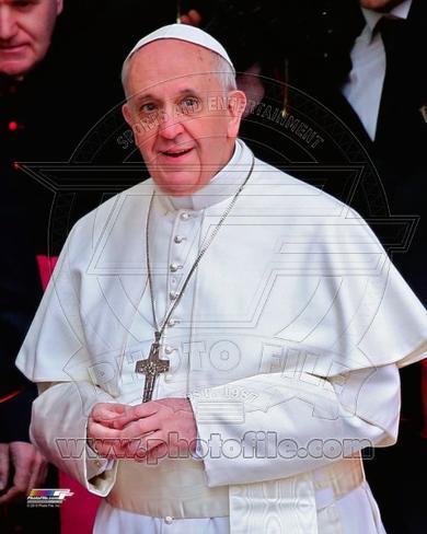 Pope Francis I, Cardinal Jorge Mario Bergoglio leaves the Basilica in Rome, March 14, 2013 Photo