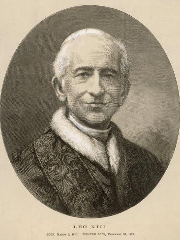 Pope Leo XIII (Gioacchino Vincenzo Raffaelle Luigi Pecci) at the Time of His Death Photographic Print