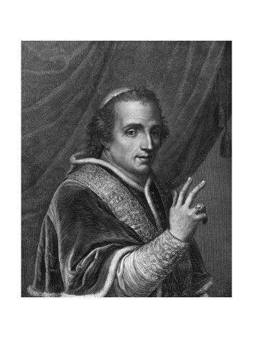 Pope Pius XI, Closeup Lámina giclée