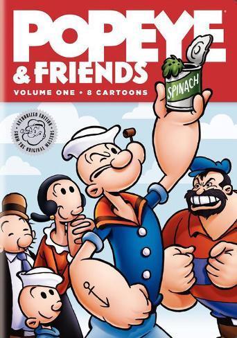 Popeye and Friends Masterprint