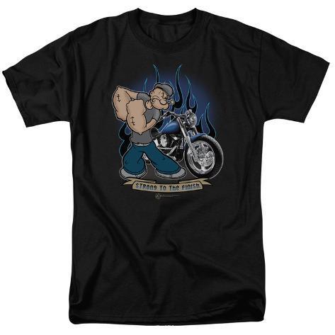 Popeye-Biker Popeye T-Shirt