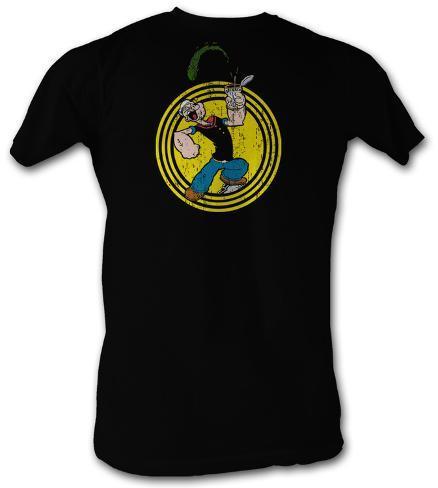 Popeye - Spinach Circle T-Shirt