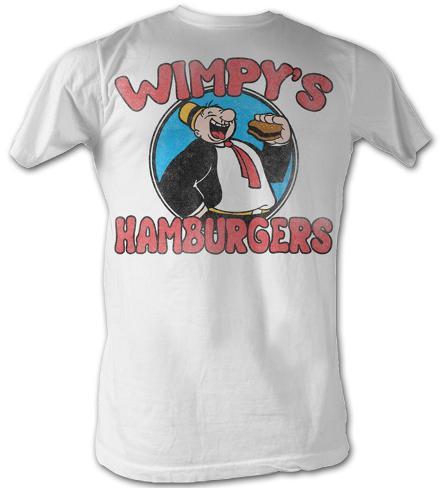 Popeye - Wimpy's Burgers T-Shirt