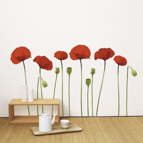 Poppy Adesivo de parede