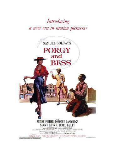 Porgy and Bess, 1959 Art Print