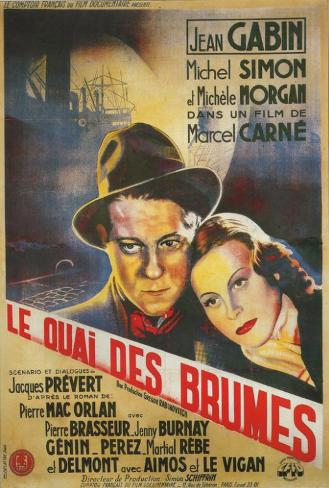 Port Of Shadows - French Style Poster