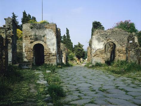 Porta Ercolano Giclee Print