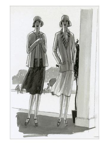 Vogue - July 1929 Giclee Print