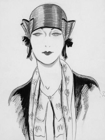 Vogue - March 1929 Giclee Print