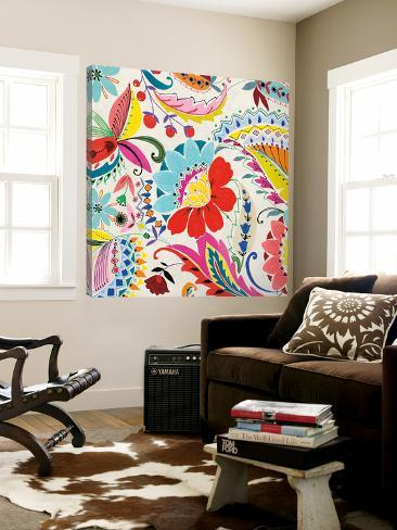 Boho Paisley II Loft Art