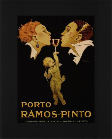 Porto Ramos Pinto Art Print