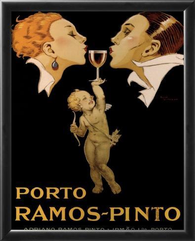 Porto Ramos Pinto Framed Art Print