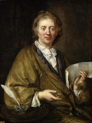 Portrait of a Man, Presumed to Be Francois II Couperin Lámina giclée