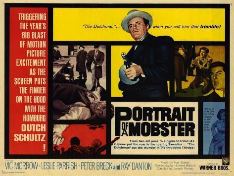 Portrait of a Mobster, 1961 Art Print