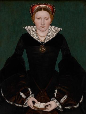 Portrait of a Noblewoman, C.1550 Stampa giclée