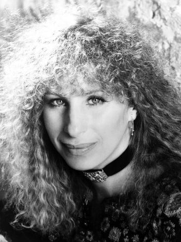 Portrait of Barbra Streisand, 1983 Photo