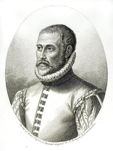 Portrait of Charles De L'Ecluse Giclee Print