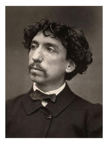 Portrait of Charles Garnier, Architect (1825-1898) Stretched Canvas Print