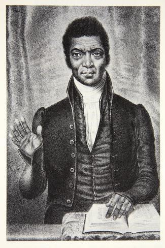 Portrait of Christopher Rush Lámina giclée