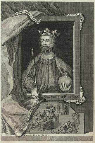 Portrait of Edward II of England Giclee Print