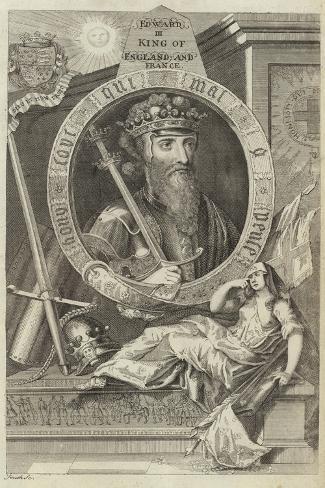 Portrait of Edward III of England Giclee Print