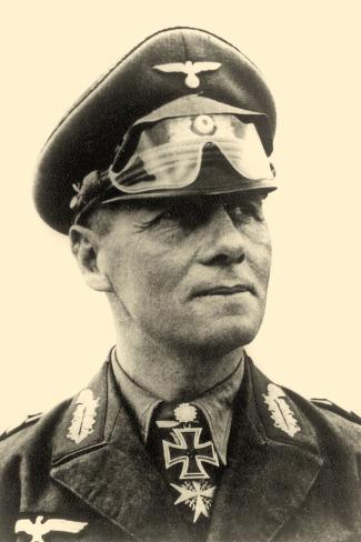オールポスターズの portrait of general erwin rommel c 1942 写真