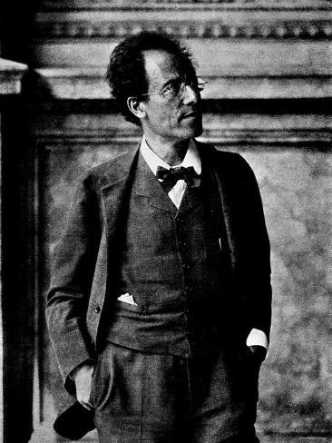 Portrait of Gustav Mahler Photographic Print