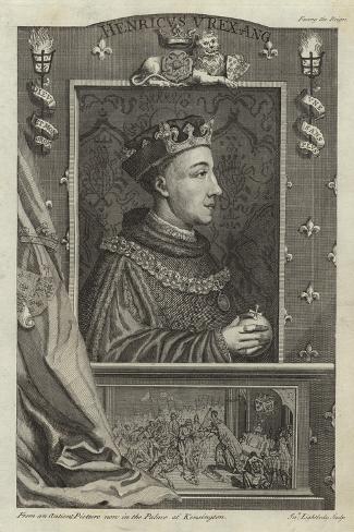 Portrait of Henry V of England Giclee Print