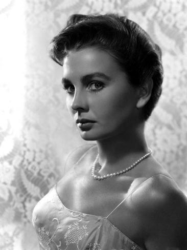 Portrait of Jean Simmons Photo