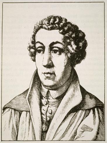 Portrait of Johann Reuchlin Lámina giclée