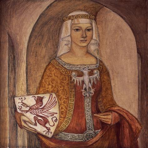 Portrait of Princess Elizabeth Giclee Print