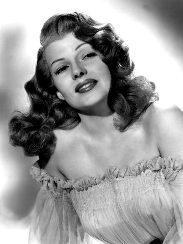 Portrait of Rita Hayworth Photo