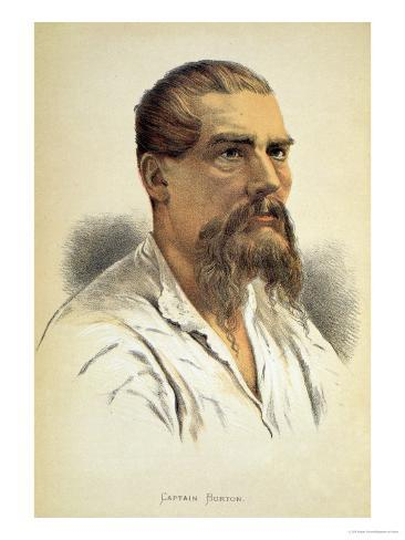 Portrait of Sir Richard Francis Burton Giclee Print