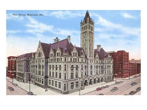 Post Office, Milwaukee, Wisconsin Art Print