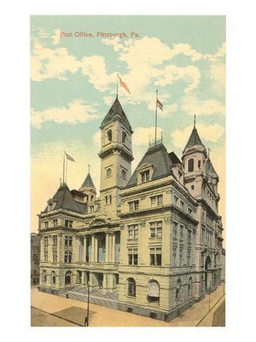 Post Office, Pittsburgh, Pennsylvania Art Print