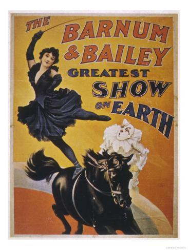 Poster for Barnum and Bailey's Circus Giclee Print