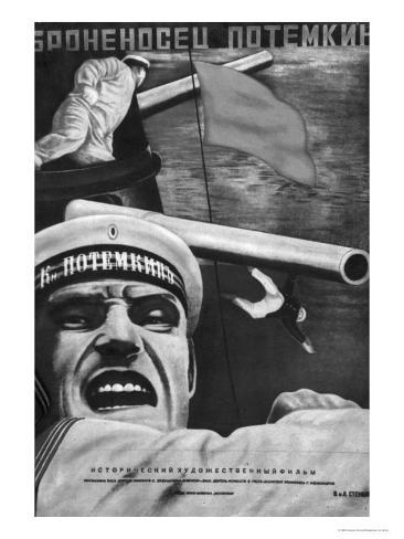 Poster for Sergey Eisenstein's Film,