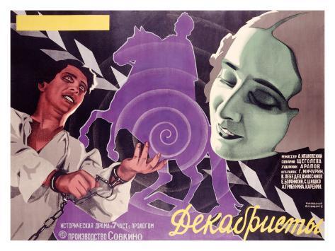 Poster per film russo Stampa giclée