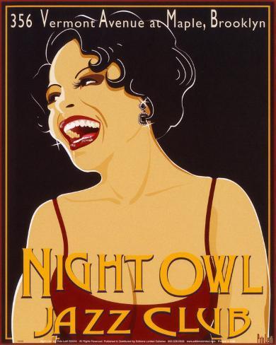 Nite Owl Art Print