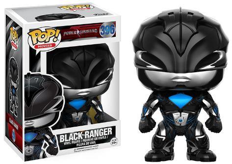 Power Rangers - Black Ranger POP Figure Toy